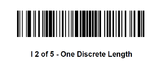 Barcode Enable 2 of 5